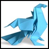 How to Make Origami Pigeons and Birds