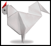 How to Make Origami Chickens Lessons
