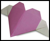 How to Make Origami Heart   with Wings Lessons