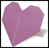 How to Make Origami Heart   Stands Directions