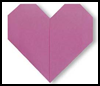 How to Make Origami Hearts Instructions