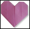 How to Make Origami Easy   Hearts Instructions