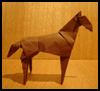 How to Make Origami Horses Instructions