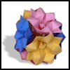 Instructions for Making Origami Lotus Flowers