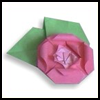 How to Make Origami Roses Instructions