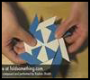 Origami Star & Moon (Eight Pointed Star) Folding Instructions
