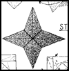 How to Make Origami Stars Model Directions