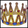Jeweled   Crowns  : Crafts Ideas for Parades