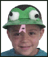 Frog   Hat  : Parade Crafts Activities for Children