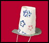 Patriotic   Top Hat   : Parade Crafts Instructions
