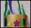 Mardi   Gras Crown  : Crafts Ideas for Parades