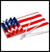 July   Fourth Flag  : Crafts Ideas for Parades