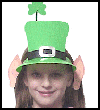 Leprechaun   Hat with Ears  : Crafts Ideas for Parades