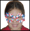 Patriotic   Fun Glasses   : Parade Crafts Instructions