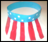 Independence   Day Sun Visor  : Parade Crafts Activities for Children