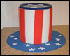 Patriotic   Treat Can   : Parade Crafts Instructions
