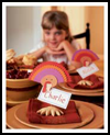Turkey   Place Markers  : Table Placeholder Crafts for Kids