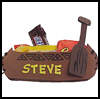 Canoe   Place Card and Candy Holder   : Party Favor Placeholder Crafts Ideas for Children