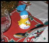 Snowman Name Place Holder  : Table Placeholder Crafts for Kids