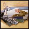 Baby Photo Album Ring : Photo Album Crafts Ideas for Kids