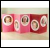 Accordion Photo Card : Photo Album Crafts Ideas for Kids