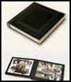 Pocket sized leather photo album