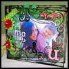 Acrylic   Mini Album  : Photo Album Crafts Ideas for Kids