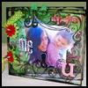 Acrylic Mini Album : Photo Album Crafts Ideas for Kids