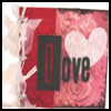 Brown   Paper Bag Album - Valentine Theme