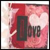 Brown Paper Bag Album - Valentine Theme