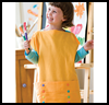 Pillowcase Smock Arts and Crafts Idea for Kids