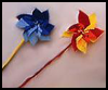 Instructions for Making Pinwheels