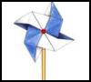 Easy Directions for Making Pinwheels for Kids