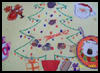 Making Christmas Placemats Crafts Activity for Kids