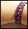 Cuff Bracelet   : Free Plastic Canvas Patterns for Children