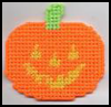 Jack-O-Lantern  : Easy Plastic Canvas Patterns Instructions