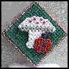 Ladybug   Landing Pin  : Easy Plastic Canvas Patterns Instructions