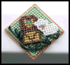Lion   & Lamb Pin  : Easy Plastic Canvas Patterns Instructions