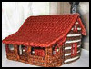 Log   Cabin Plastic Canvas House  : Easy Plastic Canvas Patterns Instructions