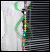 Beaded   Plastic Canvas Wind Spinner  : Crafts Ideas with Plastic Canvas for Kids