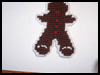 Gingerbread   Man   : Free Plastic Canvas Patterns for Children