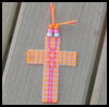 Plastic   Canvas Cross Bookmark  : Plastic Canvas Activities