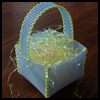 Plastic   Canvas Easter Basket