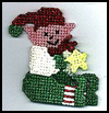 Country   Elf Ornament   : Free Plastic Canvas Patterns for Children