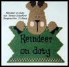 Reindeer   on Duty