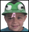 Frog   Hat    : Crafts Projects with Pom Poms