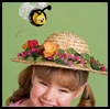 A<br />  Honey of a Hat  : Pom Pom Crafts Ideas for Kids