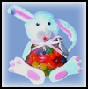 Easter   Bunny Jelly Bean Bag    : Crafts Projects with Pom Poms