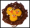 Chicks   in a Nest   : Pom Pom Crafts Activities for Children