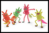 Boogie   Monsters  : Pom Pom Crafts Ideas for Kids